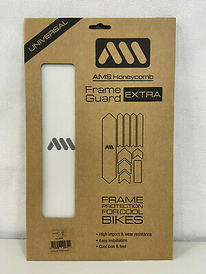 All Mountain Style AMS Honeycomb Frame Guard Protection XL Clear Transparent