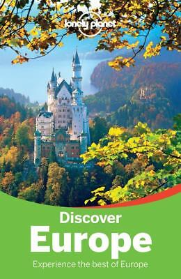 NEW Discover Europe By Lonely Planet Travel Guide Paperback Free Shipping