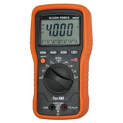 Klein Tools MM5000 Electrician's Multimeter True RMS TRMS - NEW
