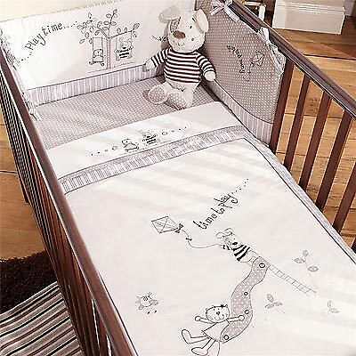 Izziwotnot Time To Play Cot/Cot Bed Quilt