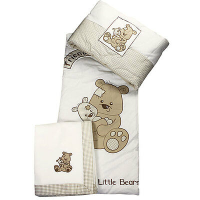 Snuggle Baby Best Friends 5 Piece 4 Tog Quilt Bedding Bale, Cot/Cot Bed