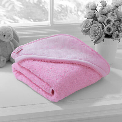 Clair de Lune Cotton Candy Hooded Towel, Pink