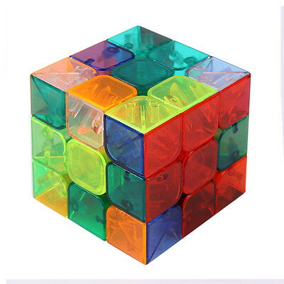 New Ultra-smooth Professional Speed Transparent  Magic Cube Puzzle Twist