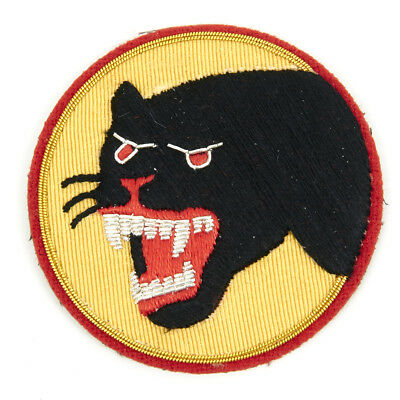 U.S. WWII 66th Infantry Division Shoulder Patch - Black Panther