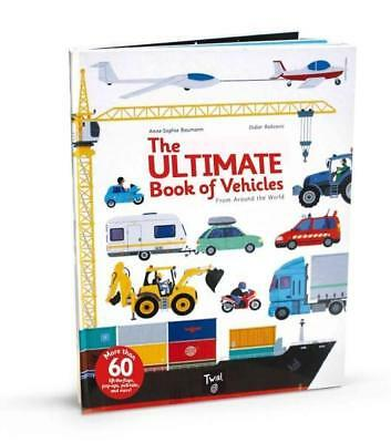 NEW The Ultimate Book of Vehicles By Didier Balicevic Hardcover Free Shipping