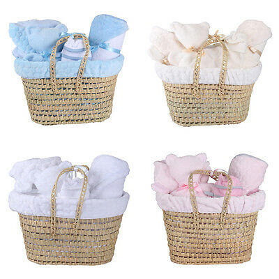 Clair de Lune Marshmallow Polly Basket Gift Set