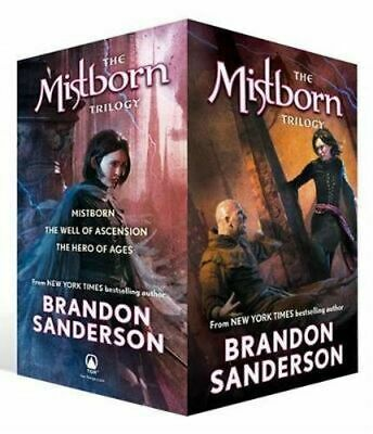 NEW The Mistborn Trilogy Boxed Set  By Brandon Sanderson Multi-Copy Pack