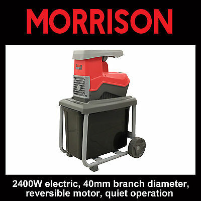 Morrison Electric Quiet Chipper Shredder