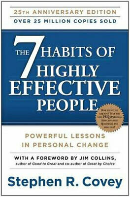 NEW The 7 Habits of Highly Effective People By Dr Stephen R Covey Paperback