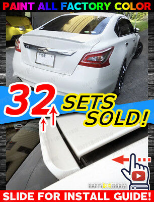 12-16 BUICK Verano sedan 4D PAINTED DELICATE SK DESIGN REAR ROOF SPOILER WING