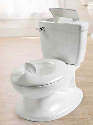 NEW Portable Baby Kids Toddler Potty Training Toilet Chair Seat Trainer, White