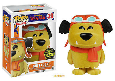 Hanna-Barbera Flocked Muttley Limited Edition Pop! Vinyl Figure - Funko - FU6105