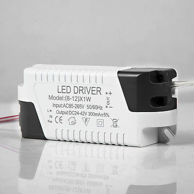 1-24W Power Supply LED  Driver Electronic Transformer Constant Current 300mA