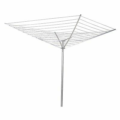 Household Essentials 12-Line Outdoor Umbrella-Style Clothes Dryer Size: 1 NEW