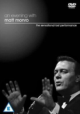 An Evening With Matt Monro [DVD] - DVD  XIVG The Cheap Fast Free Post