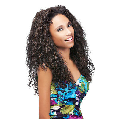 Penny - Outre Quick Weave Synthetic Hair Half Wig Long Curly