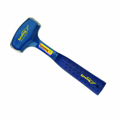 """Estwing B3-3LB 11"""" Solid Steel 3lb Drilling Hammer with Shock Reduction Grip"""