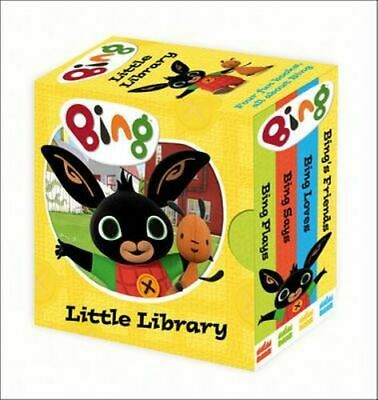 NEW Bing's Little Library By Ted Dewan Board Book Free Shipping