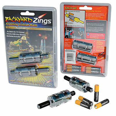 *NEW* ZINGS BACKYARD FLASHING BAILS, Batteries Included, FREE UK Postage