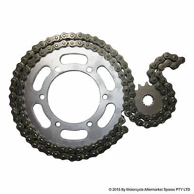 HEAVY DUTY '0' RING CHAIN and SPROCKET KIT suit YAMAHA AG200 1984 to 2018