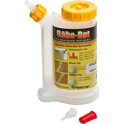 FastCap Babe-Bot, 4 Ounce Glue Bottle by Fastedge, Sold separately (GB.BABEBOT)