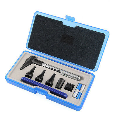 Ophthalmoscope Otoscope Stomatoscop Diagnostic Set for Ear Eye Mouth HOT