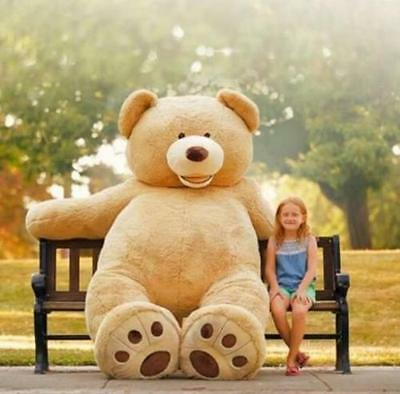 "102""/260cm HUGE SUPER TEDDY BEAR(ONLY Skin without cotton ) PLUSH TOY SHELL"