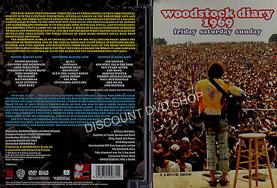 Woodstock Diary 1969 (DVD, 2009) A Hour Show. New DVD