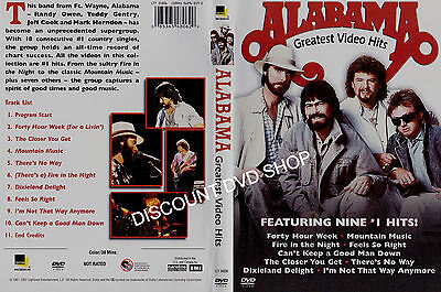 Alabama Greatest Video Hits. 11 Tracks on DVD. New.Prompt delivery from the UK