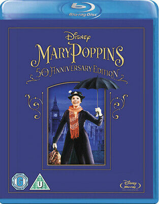 Mary Poppins Blu-ray (2013) Julie Andrews, Stevenson (DIR) cert U Amazing Value