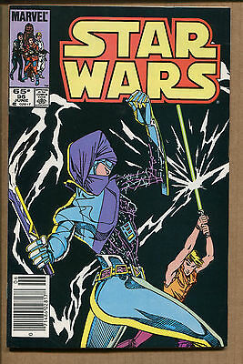 Star Wars #96 - Duel With a Dark Lady! - 1985 (Grade 9.2)