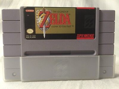 The Legend Of Zelda: A Link To The Past SNES Super Nintendo Game with Dust Cover