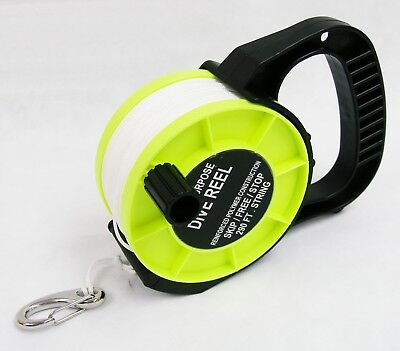 OTG Scuba Diving Cave Wreck & Open water Multi Purpose 290 Feet Dive Reel #OG-28