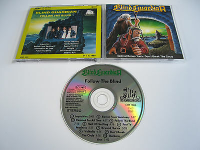 BLIND GUARDIAN Follow the Blind CD 1989 COLLECTIBLE 1st PRESSING - NO REMORSE!!!