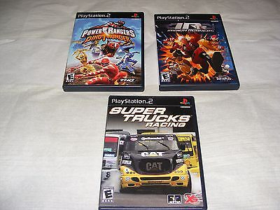 Lot Of (3) Playstation 2 Games !!!