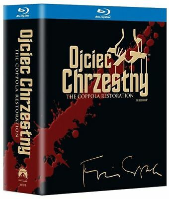 Ojciec Chrzestny: Trylogia (The Godfather: Trilogy) - Box [4 Blu-Ray]