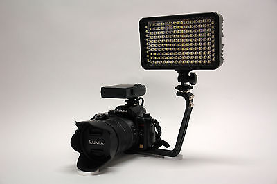Pro XB-2 LED camcorder video light for Sony FDR AX53 HDR CX675 CX455 Handycam