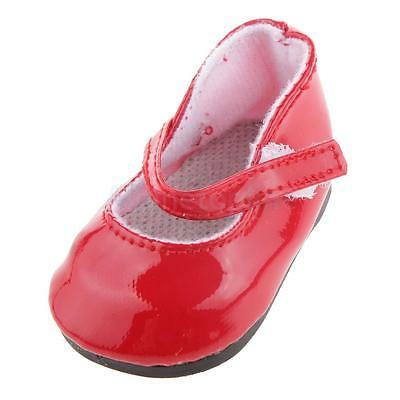 """Fashion Red Shoes for 18"""" American Girl Doll Party Clothes Outfit Accessory"""