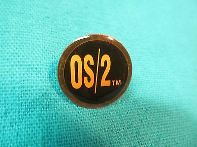 IBM Microsoft OS//2 Multi color pin NEW IN UNOPENED PACKAGE!