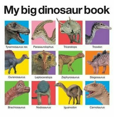 NEW My Big Dinosaur Book By Priddy Books Board Book Free Shipping
