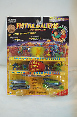 Fistful Of Aliens Action Figures Rare War Pack Yes! Toys 1998 Mip Crystallites