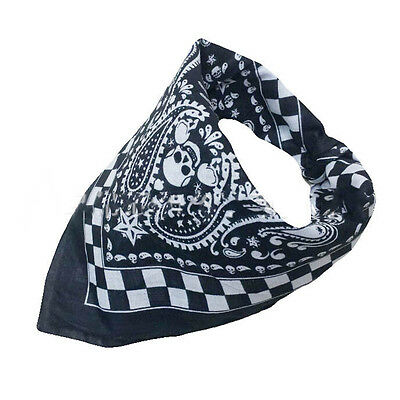 Skull Kerchief Bandana Sport Headband Scarf Mask Outdoor Bicycle Cycling Magic