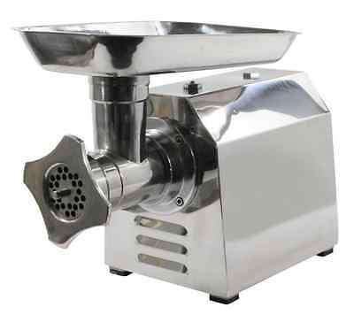 NEW Sportsman Industrial Commercial Grade Electric Meat Grinder, Stainless Steel