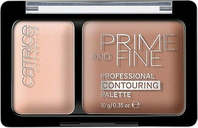 Catrice - Prime And Fine Contouring Palette - Catrice - 10 Ashy Radiance