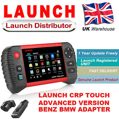 LAUNCH CRP TOUCH PRO OBD2 All System Car Diagnostic Tool & Equipment UK SRS TPMS
