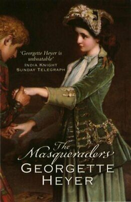 Masqueraders by Heyer, Georgette Paperback Book The Cheap Fast Free Post