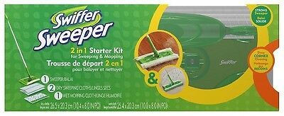 Swiffer sweeper 2 in 1 mop and broom floor cleaner kit the best for your floor