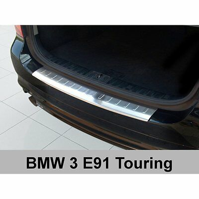 DCP Stainless steel rear bumper protector for BMW 3 Series E91 touring 2008-2012
