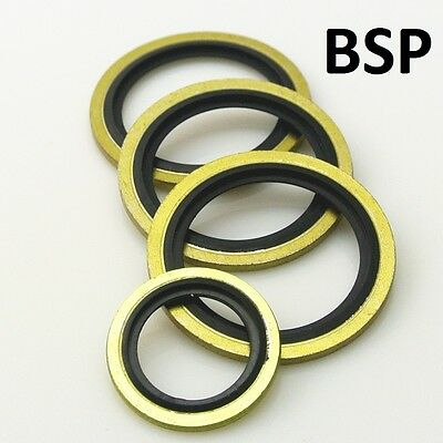 Bsp Dowty Bonded Seal 1/8 - 1 1/4 Bsp Imperial Self Centering Various Qty's