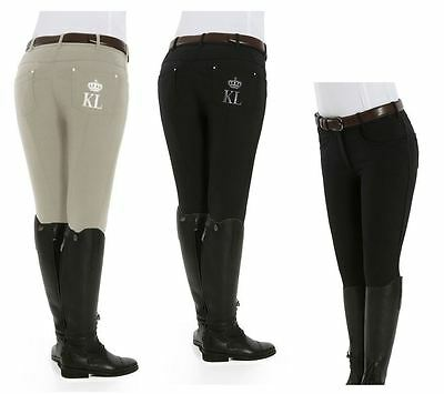 Kingsland Kelly Full Leather Seat Breeches - 141-SBL-824